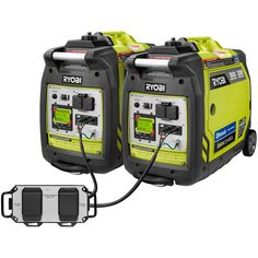 RYOBI Bluetooth Super Quiet Gasoline Powered Digital Inverter Generator with Parallel Combo Kit. Enjoy the convenience of parallel capability when you link 2 RYOBI inverter generators together for twice the power. Camping Checklist, Tent Camping, Camping Gear, Camping Hacks, Camping Jokes, Hiking Gear, Camping Trailers, Camping Supplies, Camping Life
