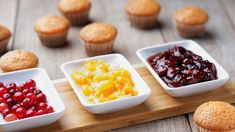 Recipes | The Dr. Oz Show | Rocco DiSpirito's Mini Almond Cupcakes With Mixed Berries. Health-ify your cupcake recipe by trying out these delicious almond berry cupcakes.