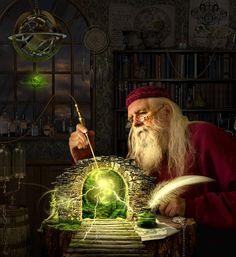 Alchemist by funkwood. Dark Fantasy, Medieval Fantasy, Fantasy World, Fantasy Artwork, Fantasy Wizard, Deviant Art, Fantastic Art, Alchemist, Fantasy Characters