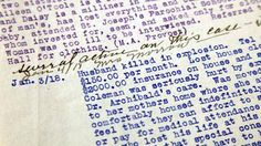 Report on Frances Coleman, who was injured in the Halifax explosion. Halifax Explosion, Nova Scotia, Investing