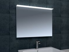 £235 Ellen LED Mirror 800mm x 615mm with Demister and Shaver Socket