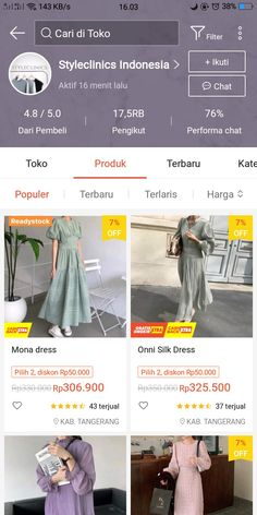 Best Online Clothing Stores, Online Shopping Sites, Online Shopping Clothes, Online Shop Baju, Best Filters For Instagram, King Outfit, Aesthetic Shop, Fashion Terms, Casual Hijab Outfit