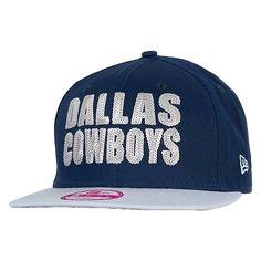 Dallas Cowboys New Era Ladies Get Fancy 9Fifty Cap