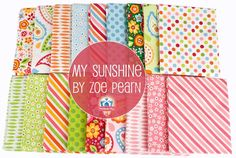 My Sunshine by Zoe Pearn for Riley Blake
