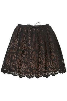 Lace Full Skirt - StyleSays