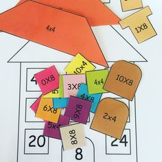 Egy játék, ami segít megtanulni a szorzótáblát! Math Activities, Playing Cards, Teaching, Education, Calculus, Math Stations, Training, Game Cards, Learning