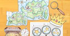 Lesespur-Abenteuer für die Grundschule: Die Suche nach dem Goldschat