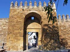 Puerta que abría al antiguo camino que conducía a la Villa de Almodóvar, de ahí que se le conociera así tras la reconquista de la ciudad en 1236.
