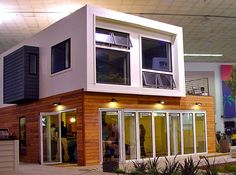 Another container house.