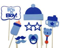 Resultado de imagen para photo booth props baby shower en español para imprimir