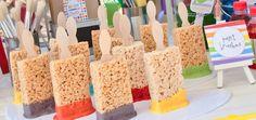 Paintbrush-Rice-Krispie-Treats