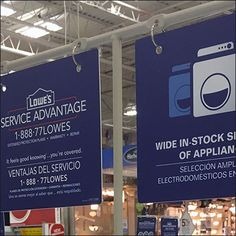 Appliance T-Stand Sign Arms At Lowes – Fixtures Close Up Lowes, Close Up, Signage, Arms, Appliances, Retail, Shapes, Gadgets, Accessories