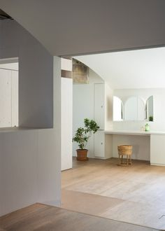 Team Living House by Masatoshi Hirai Architects Atelier, an apartment interior renovation in Tokyo, Japan