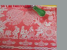 60 x 60 tablecloth