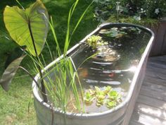 Use Stock Tanks 22 Genius Ways | Here are 22 creative, practical, and cost-effective ways to use stock tanks and galvanized tubs around the home and garden.