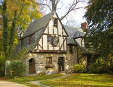 Tudor Style Houses Facts and History (1890-1940) - Wesley Heights, Washington, DC
