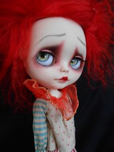Custom Blythe Doll by Thecacklingwitch on Etsy