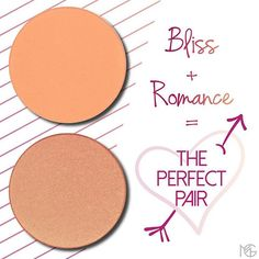 Bliss  Romance = The Perfect Pair  Combine blushes for a fresh custom-made look. 1. Start by applying a generous wash of Bliss. 2. Lightly dust Romance on top for good measure. The result? A flawless flush that's peachy shimmery and summery...all at the same time!  Try it out and tag us in your pics. Shop Makeup Geek blushes via the link in our bio. #makeupgeek #makeup #makeupgeekcosmetics #teamMUG #beautytip #blush by makeupgeekcosmetics