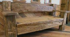 barnboard bench