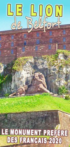 L'histoire et les anecdotes autour du Lion de Belfort, élu Monument Préféré des Français en 2020. . . . #France #FrenchMoments #Belfort #LiondeBelfort #FrancheComté Lion, French Castles, France, Leo, Lions, French Resources