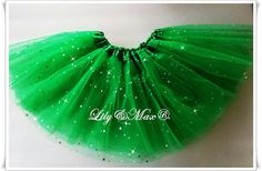 ST. PATRICK inspired tutus look gorgeous! embellished with glittered sparkles all around the tutu~ twirl all day long favorite party favor! - We have