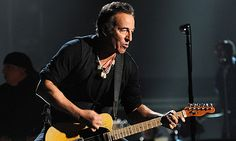 "Bruce Springsteen's rage and optimism make his new album, ""Wrecking Ball,"" a triumph. E Street Band, Working Man, Whitney Houston, Bruce Springsteen, Abc News, News Online, The Guardian, Rage, My Music"