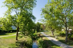 Cessinger Park by Förder Landschaftsarchitekten « Landscape Architecture Works   Landezine