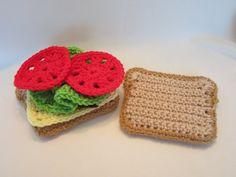 Bildresultat för crochet tomato slice