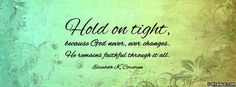 Hold On Tight - Facebook Cover Photo