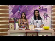 Mulher.com - 14/11/2016 - Porta talheres com guardanapo - Livia Fiorelli PT1 - YouTube