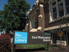 The Indianapolis Public Library East Washington Branch was recently added to the National Register of Historic Places. It was completed in 1911.