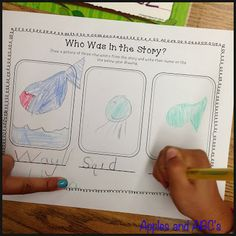 Test - Apples and ABC's: Story Elements for Kindergarten