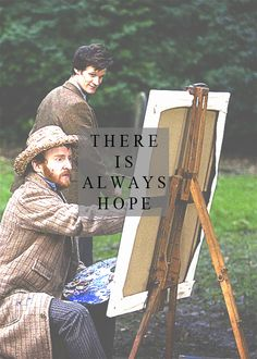 There is always hope. #doctorwho #vangogh // Probably my favorite Who episode. Embarrassing weepfest.