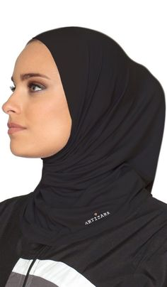 One Piece Stretch Sports Hijab - Black One Piece Stretch Sports Hijab – Black. One Piece Stretch Sports Hijab – Black One Piece Stretch Sports Hijab – Black # Sports Hijab, Outfits Casual, Evolution Of Fashion, Black Fitness, Black One Piece, Sports Jacket, Models, Muslim Women, Athletic Wear