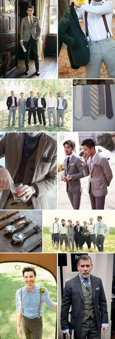 Semi formal men's fashion