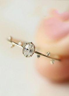 Twig Ring, Diamond Earrings, Stud Earrings, Color Ring, Cute Jewelry, Bridal Jewelry, Vintage Jewelry, Unique Rings, Beautiful Rings