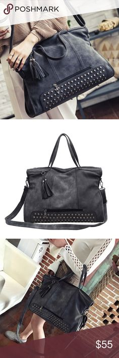 05724f5cd2c47b NEW LIGHTENING Studded Bag *Condition: BRAND NEW ( indepedent boutique item  / no brand