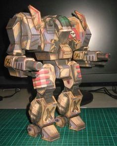 [mechwarrior universe] templar