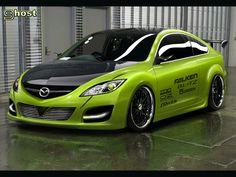 Mazda 6 - Racing.  Great colors!