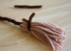 These Mini Witch Brooms, a type of yarn Pom Pom, are the perfect size for Barbie or Spiderman. Whether your kids use them for their toys to take flight or you add them as a decoration to your own little witch, they're easy and fun to make. Supplies for Witch Broom: Yarn – brown or …
