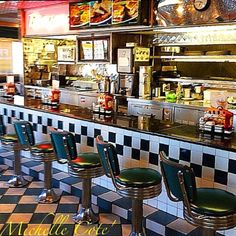 50's style diner