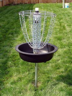 Picture of Hardware Disc Golf Basket... #golf #DIY