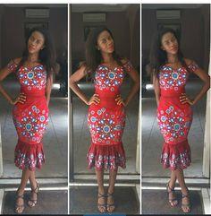 Beautiful Ankara Gown Design  http://www.dezangozone.com/2015/07/beautiful-ankara-gown-design.html