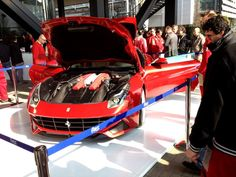 The new Ferrari F12 Berlinetta...Yum! I especially like the twin inlet snorkels.