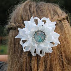 Congelado el arco del pelo arco del pelo de Elsa por Bowtiquefun