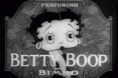 Betty Boop - Stopping the Show - primer cortometraje 1932