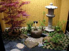 35 Beautiful Mini Zen Garden Design Ideas A zen garden may also inc. - 35 Beautiful Mini Zen Garden Design Ideas A zen garden may also include a very simple - Small Japanese Garden, Mini Zen Garden, Japanese Garden Design, Japanese Gardens, Japanese Landscape, Garden Modern, Asian Landscape, Easy Garden, Asian Garden