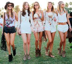 Allesandra Ambrosia and friends Coachella 2015