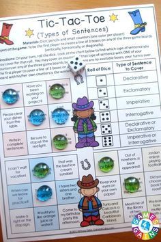 Looking for fun ways to practice types of sentences? This Types of Sentences Games packet contains 6 fun and engaging printable board games to help students to practice declarative, imperative, exclamatory, and interrogative sentences and their ending punctuation!
