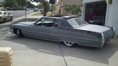 Bagged cadillac deville